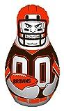NFL Cleveland Browns Unisex NFL Tackle Buddy Punching Bag, Orange, One Size
