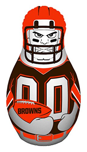 (NFL Cleveland Browns Tackle Buddy Punching Bag, Orange,)