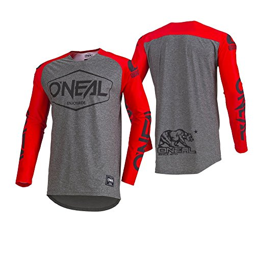 O'Neal Unisex-Child Youth Mayhem Lite Jersey (Hexx) Red Medium