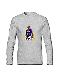 Boys Girls Long Sleeves T-shirts Tops For Kobe Bryant Black Mamba Classic