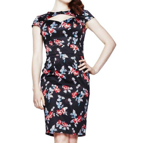 Corte de conejo vestido de Rosalie ropaque 4221 - Colour negro negro