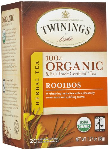 Twinings of London - Organic Rooibos Tea - 20 Tea - Twining Tea Rooibos