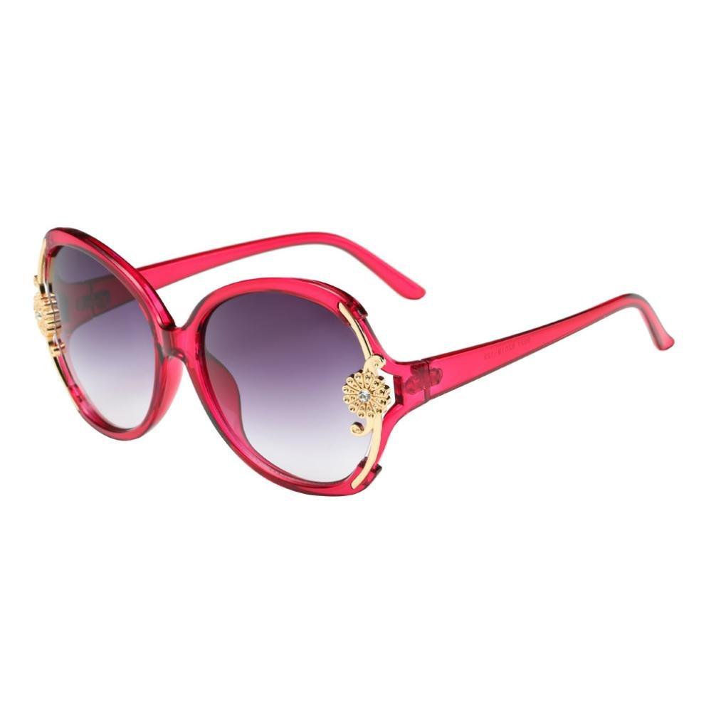 Gafas de Sol Mujer, ❤️Xinantime Moda mujer flor decoración ...