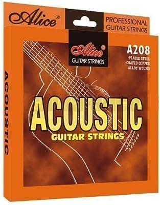 Cuerdas Guitarra Acústica Calibre 12s 0.12-0.53: Amazon.es ...