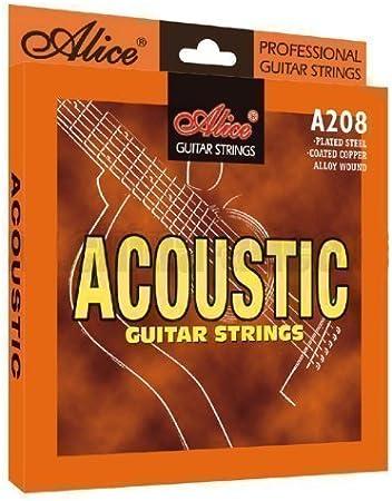 Cuerdas de guitarra acústica calibre ligero 11s 0.11-0.52