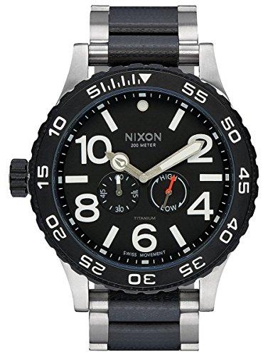 Titanium The Moon Raider Watch by Nixon