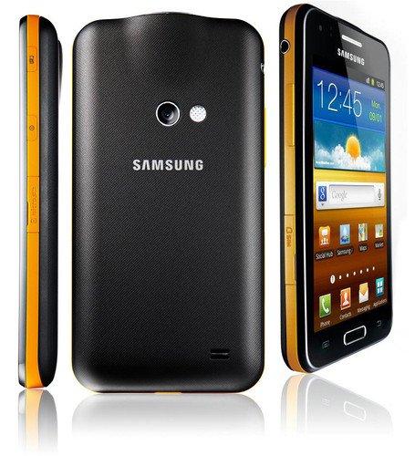 (Samsung Galaxy Beam I8530 Black / Yellow Factory Unlocked Projector Smartphone Fast Shipping)