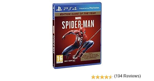 Marvels Spider-Man pour PS4 [Importación francesa]: Amazon.es: Electrónica