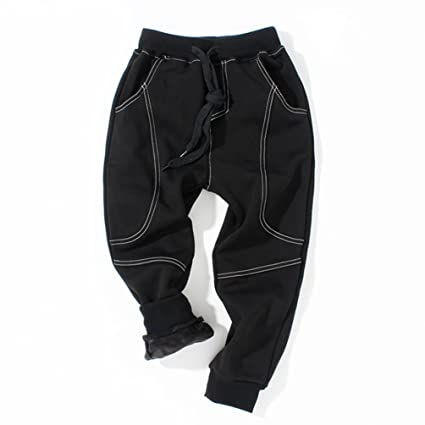 YoungSoul Pantalones para niño - Joggers Deportivos con Bajos ...