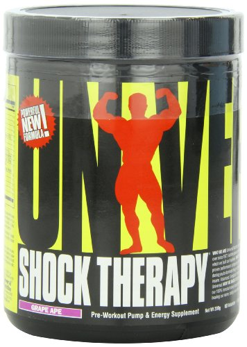 Universal Nutrition Shock Therapy, Grape Ape, 200 Grams