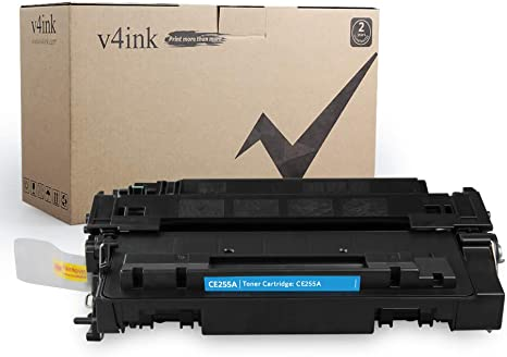 2 Pack CE255X 55X Bk Toner Cartridge For HP LaserJet Pro 500 MFP M521DN M521DW