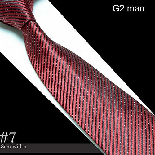 Men's Microfiber Neckties Fashion Tie Cravate Neck Ties Striped Ceangail Krawatte Neckcloth Scarf Neckwear (For Brothers Ties Brooks Men)