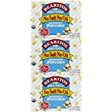 BEARITOS Organic Microwave Popcorn, No Salt or Oil, 2.8 oz, 3 pk