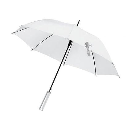 ENT Paraguas Blanco automático de Boda - Art. EL21011 - LON. 103 cm -