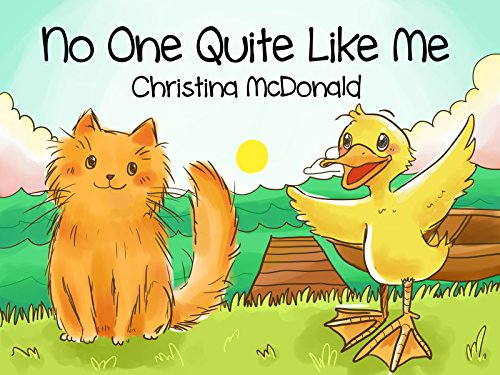 No One Quite Like Me: Free audio book included. Children's bedtime rhyming picture story book.  Preschool book for kids ages 2-4 by [McDonald, Christina]