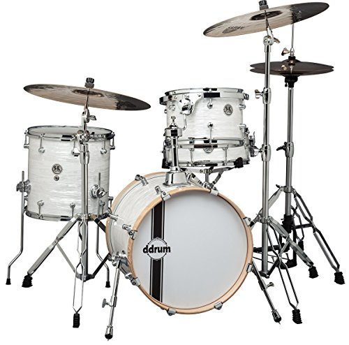 ddrum SEFLYERWP Bop Kit, Basswood, White