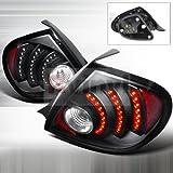 2005 dodge neon srt4 - Spec-D Tuning LT-NEO03JMLED-DP Dodge Neon Srt4 R/T Black Led Tail Lights Depo