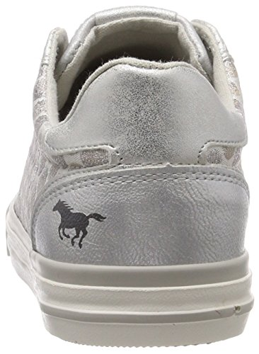 21 da basse 310 argento sneakers donna 1146 Mustang argento awEXq