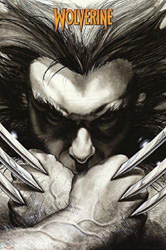 Marvel Wolverine Claws 24x36 Poster