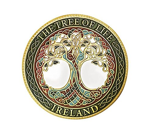 Celtic Coin - St. Patrick's Day Collectors The Tree Of Life Ireland Designed Token