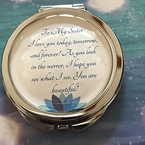 (Remembered Gifts Compact Mirror With A Treasured Message for Special Occassions: Mother's Day, Birthday's, Christmas, Graduation, and Special Celebrations (Sister))