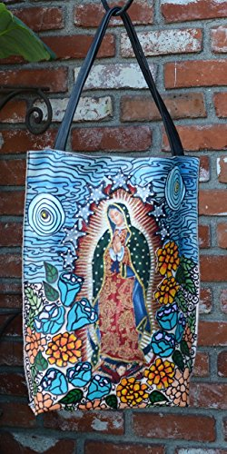 Our Lady of Guadalupe Blue by Mundo Cruel XYZ