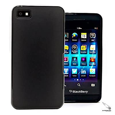 Hyperion Flexible Matte TPU Case and Screen Protector for Blackberry Z10 Smart Phone (Compatible with ALL Blackberry Z10 Models) **Hyperion Retail Packaging ** from Hyperion EA