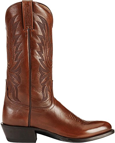 Lucchese Bootmaker Men's Carson-Ant Bn Lonestar Calf Cowboy Riding Boot, Antique Brown, 12 D US by Lucchese Bootmaker (Image #1)
