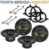 jbl speaker repair kit - Fits Toyota Sequoia 2003-2007 Factory Speaker Upgrade Harmony (2) R65 Package New