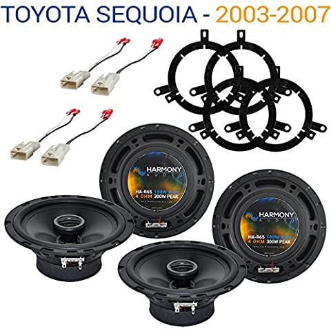 Toyota Sequoia 2003-2007 Factory Speaker Upgrade Harmony (2) R65 Package New (2006 Toyota Sequoia Speakers)