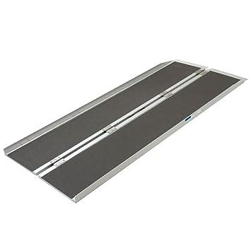 Aluminum Folding Ramps >> Amazon Com Silver Spring Aluminum Folding Wheelchair Ramp Plus 6 X