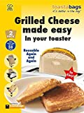 Toastabags - Grilled Cheese Made Easy in Your Toaster. Pack Of 4 Bags