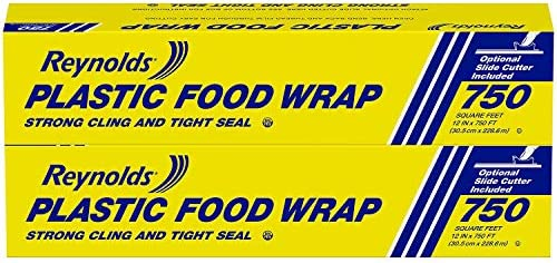 Reynolds Foodservice Plastic Wrap, 750 Square Feet, 740 Sq Ft (Pack of two)