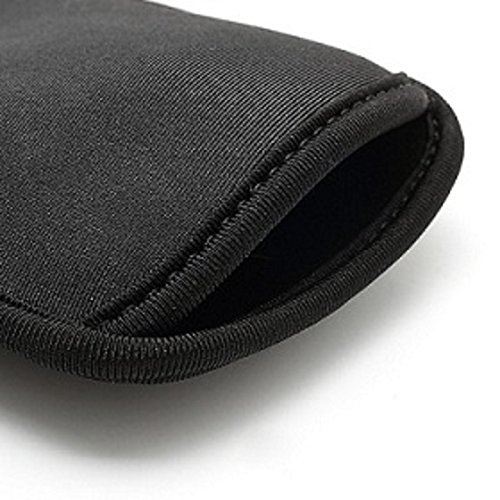 "DFV mobile - Neoprene Waterproof Slim Carry Bag Soft Pouch Case Cover for =>      APPLE IPHONE 8 PLUS [5,5""] > Black"