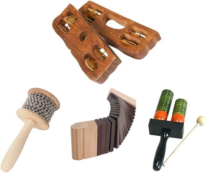 New Kokinko Wooden Percussion Wood Sound Effects Scraper