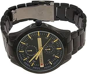 Curren 8128 Men's Watch Casual Analog Quartz Stainless Steel Band Watch