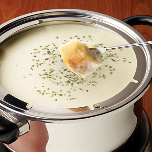 Nostalgia FPS200 6-Cup Stainless Steel Electric Fondue Pot by Nostalgia (Image #7)