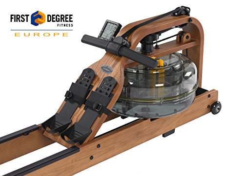 First Degree Fitness Indoor Rower, Viking Pro – American Ash – Horizontal Series
