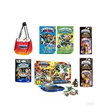 Best bargins New! SKYLANDER (7pc) Bundle Deal: Superchargers Racing Starter Pack, 2 Fun Packs, Mystery Chest, Play Storage MAT, 2 Guide Books W/Posters (Nintendo Wii)