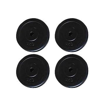 Festnight Discos De Pesas para Mancuerna Musculación 4x5 kg