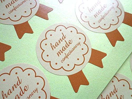 300 X Adesivo di pasticceria artigianale Cottura di etichetta alimentare Torta Caffetteria artigianale Lau&Home