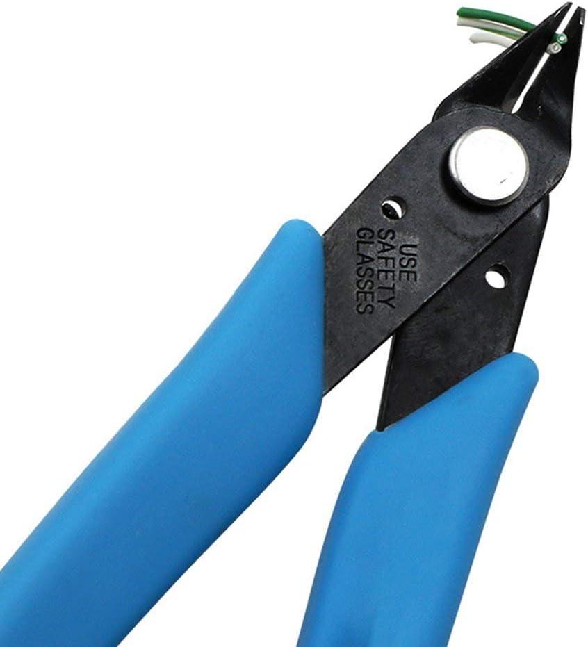 Tronchesi per cavi elettrici Taglio in gomma antiscivolo Fianchi laterali Pinza a filo Pinza Mini pinze diagonali Utensili a mano