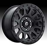 Fuel D579 Vector 16x8 6x114.3 +15mm Matte Black Wheel Rim