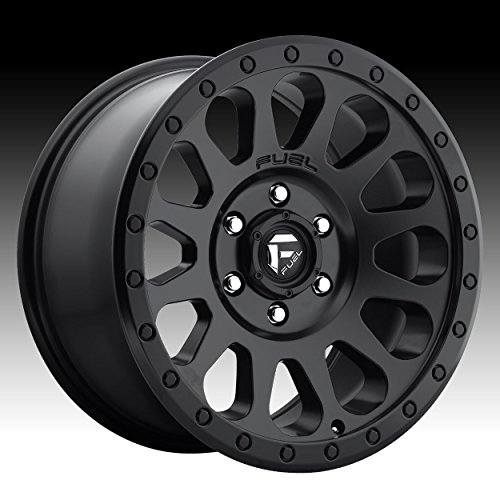 Fuel D579 Vector 16x8 6x139.7 +20mm Matte Black Wheel Rim