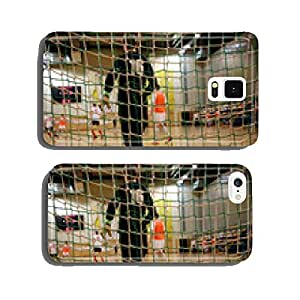 Futsal goalkeeper looking to the field cell phone cover case iPhone6 Plus