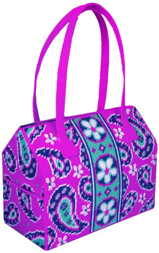 Tobin Purse Plastic Canvas Kit, Paisley