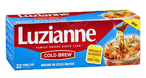 Luzianne Cold Brew Tea Bags 22 CT (Pack of 18) by Luzianne (Image #1)