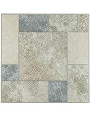 Achim Home Furnishings FTVGM32720 Nexus 12-Inch Vinyl Tile, Marble Blocks, 20-Pack