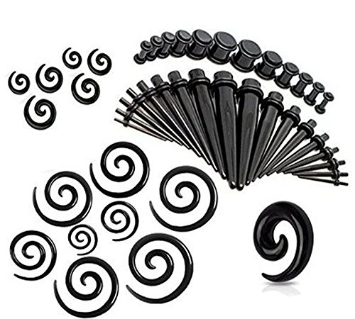 CrazyPiercing Pieces Straight 14G 00G Stretching product image
