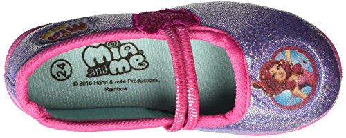 MIA AND ME Mm001393 - Bailarinas Niñas Violett (Purple/D.FUXIA 070)